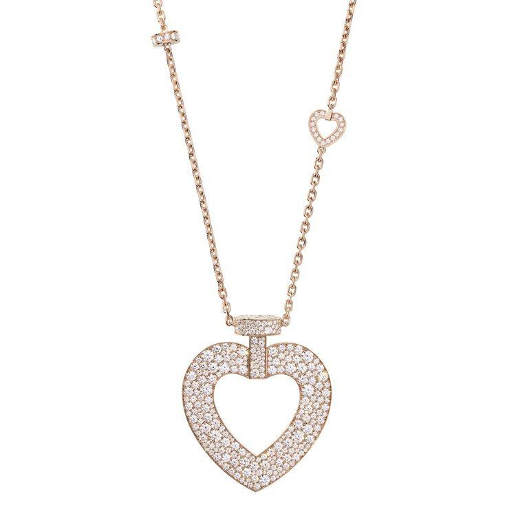 PRETTY WOMAN Fine Jewellery 18K玫瑰金鑽石超大號款...