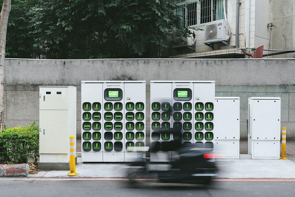 全台座落於中油加油站的GoStation已達437站,中油也是架設最多電池交換站...