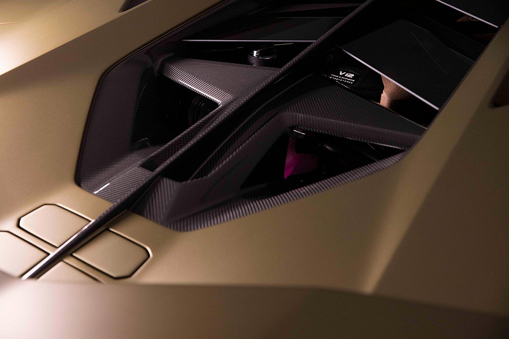 Sián的動力心臟是Lamborghini當代巔峰之作的V12引擎,輔以全新開發...