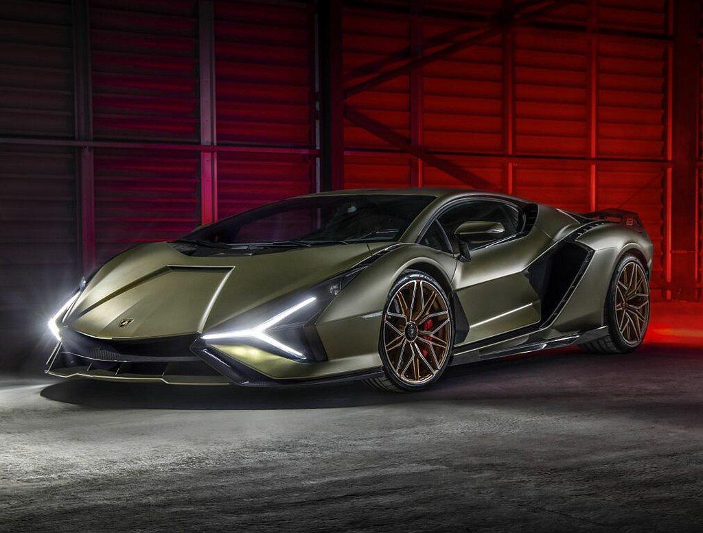 Lamborghini Sián具有銳利的線條,符合空氣力學的優雅姿態與極具辨識...