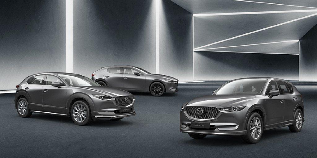 台灣馬自達推出Mazda3、Mazda CX-30與Mazda CX-5型動版,...