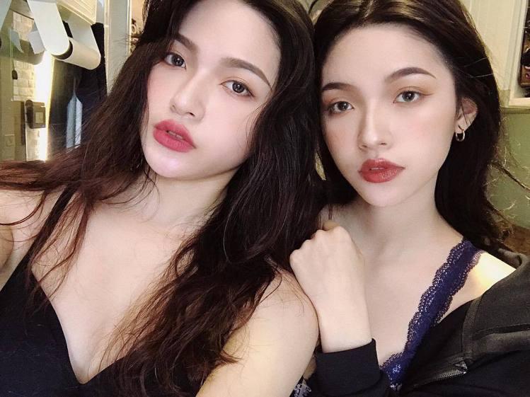 台灣最性感雙胞胎韓令、韓沁。 圖/擷自Instagram