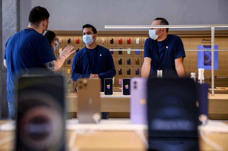 蘋果iPhone 13新機即將發表。 歐新社