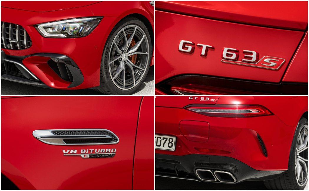Mercedes-AMG GT 63 S E Performance的兩前葉子板...