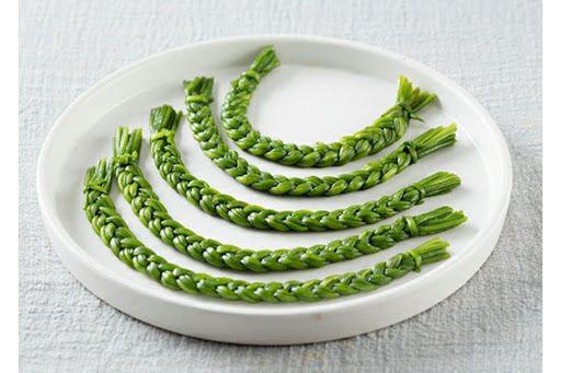 青燙水蓮菜辮子 圖/時報出版