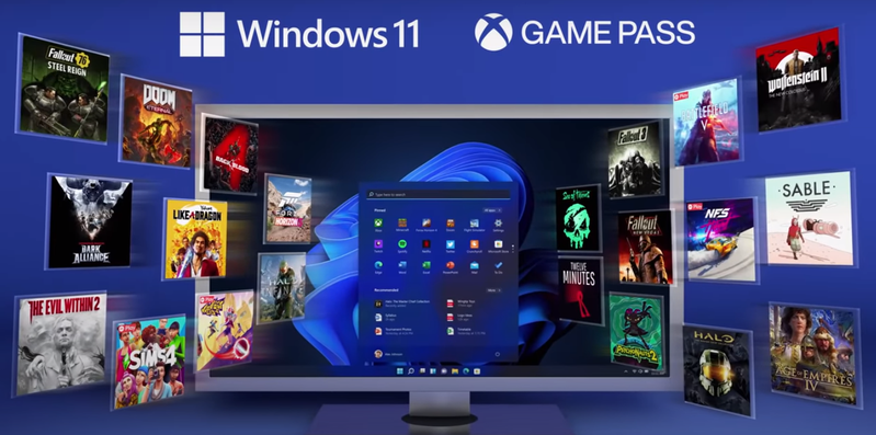 Windows 11作業系統將正式於10月5日正式上線。圖/截圖自微軟影片