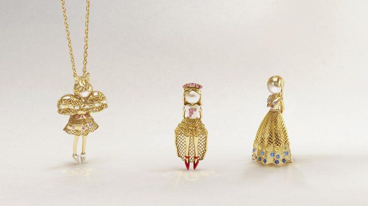 FRED隆重推出Fredy's Tomo's Dolls聯名限定珠寶系列。圖/斐...