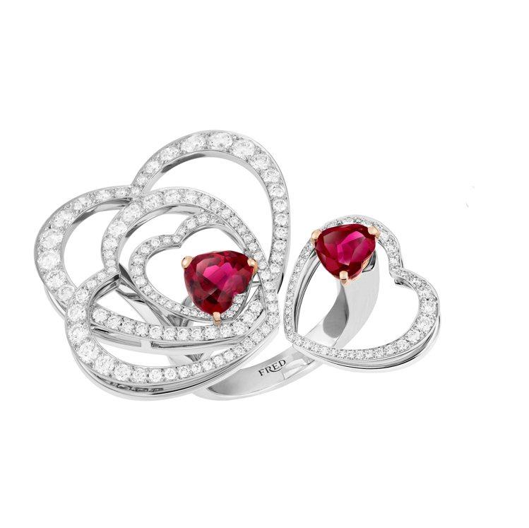 FRED Pretty Woman系列Glamorous戒指,154萬1,900...