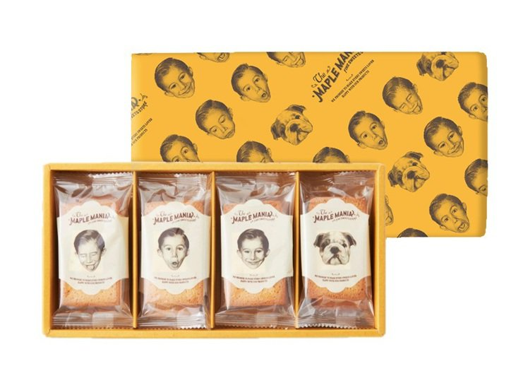 楓糖費南雪禮盒。圖/品牌提供