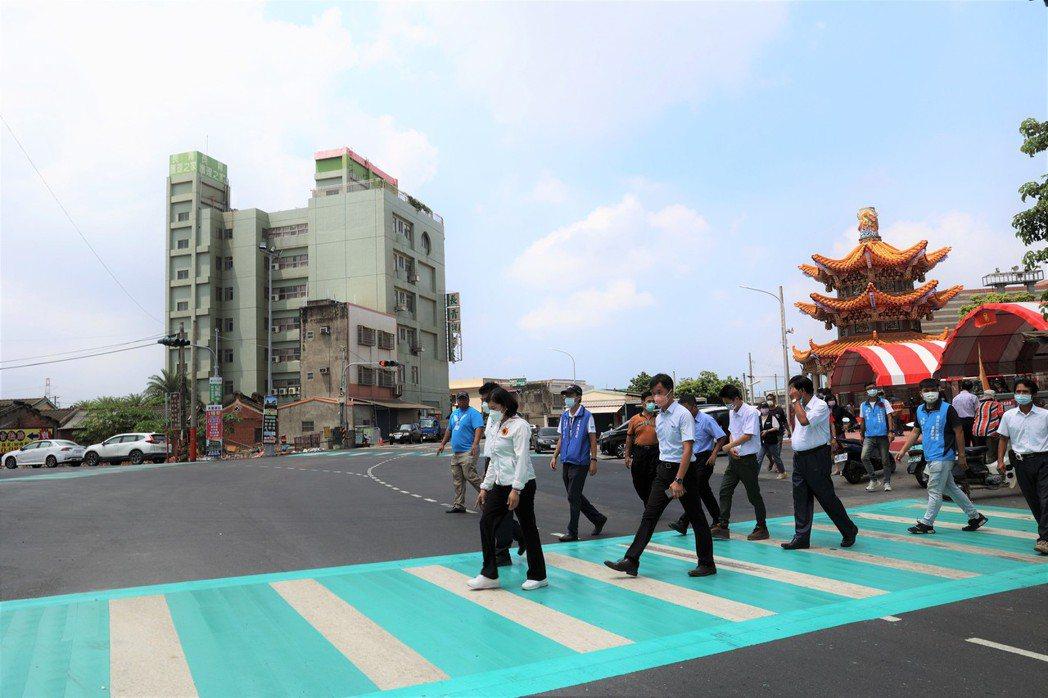 雲林縣政府投入2億多元改善道156線。記者陳苡葳/攝影