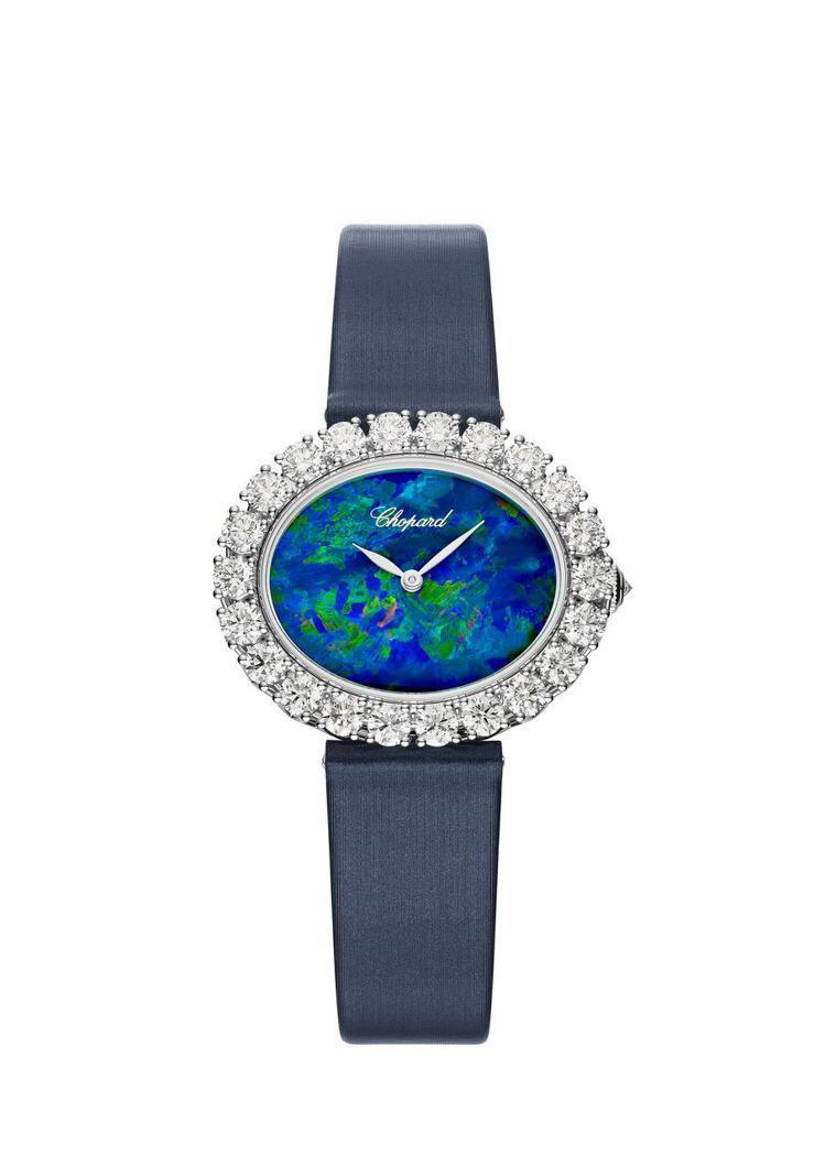 蕭邦L'Heure du Diamant 永恆之鑽自動腕表,189萬元。圖/蕭邦...