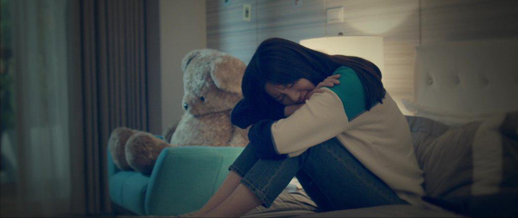 郭雪芙在「20年的約定」中情感路上坎坷。圖/AMM亞洲心動娛樂提供