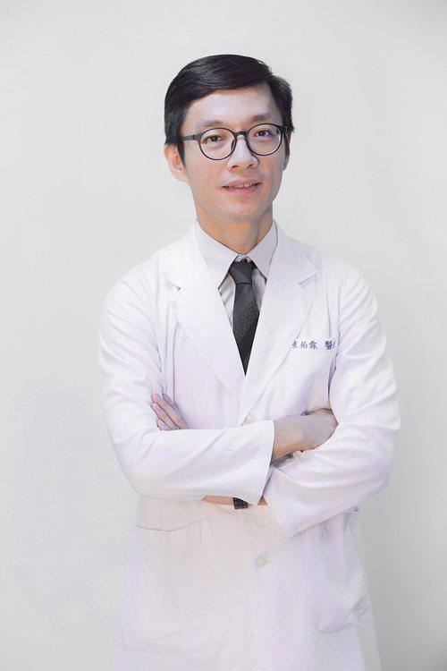 臺北榮民總醫院外科部心臟血管外科醫師陳柏霖。 圖/陳柏霖醫師 提供