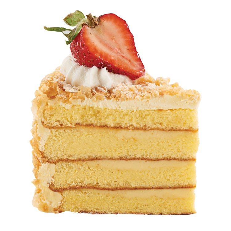 蜂蜜檸檬拿破崙(單片)。圖/85度C提供