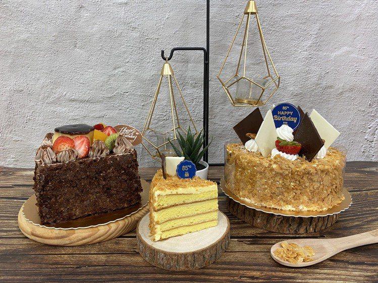85度C拿破崙蛋糕季。圖/85度C提供