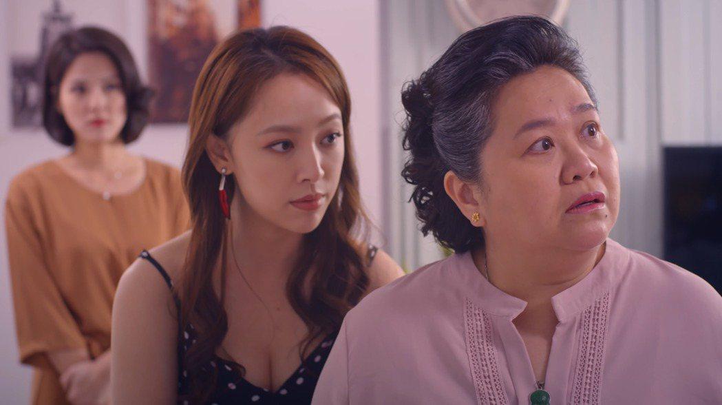 鍾欣凌以「我的婆婆怎麼那麼可愛」入圍56屆電視金鐘獎戲劇節目類最佳女主角獎。圖/...
