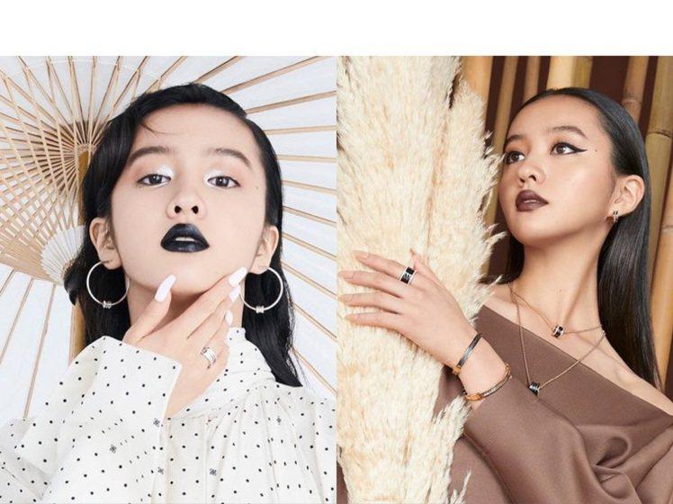 木村光希登上新加坡版《L'Officiel》雜誌9月份,中毒唇妝引起網...