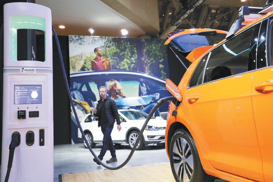 電動車在綠電產業中扮演舉足輕重之要角。 路透