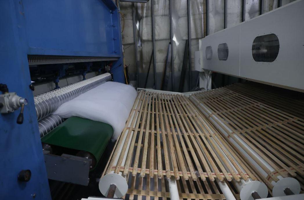 國統毯業廠區。記者葉信菉/攝影