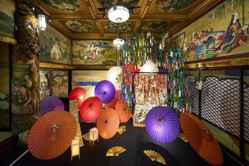 ▲集華麗與藝術於一身的「雅敘園東京飯店」展出璀燦光影展。  圖:Ⓒ雅敘園東京飯店/提供