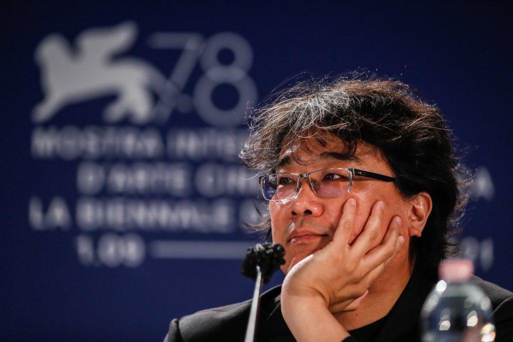 奉俊昊擔任2021年威尼斯影展評審團主席。圖/摘自官網La Biennale d...