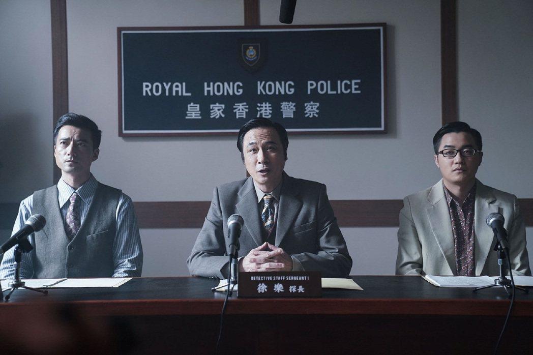吳鎮宇扮演總華探長。圖/華映提供