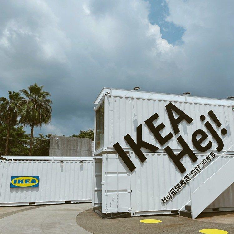 IKEA嘉義Hej行動商店共有25坪。記者劉小川/攝影