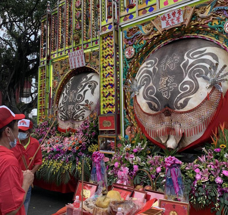 百年的義民祭神豬文化,引發文化傳統與動保的爭議。記者巫鴻瑋/攝影