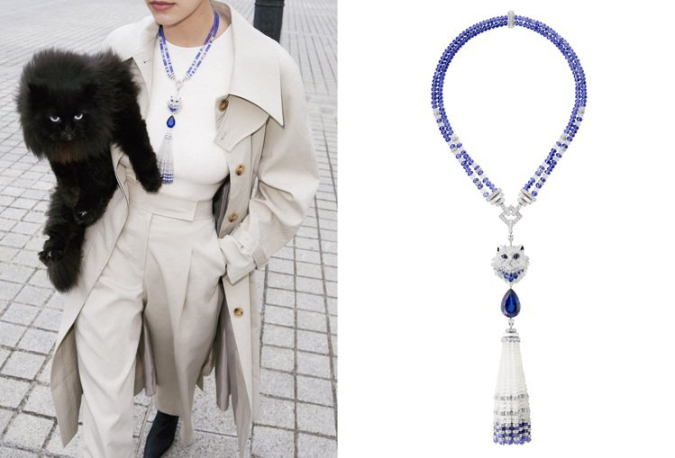 Boucheron推出全新Animaux動物系列Wladimir寵貓高級珠寶,以...