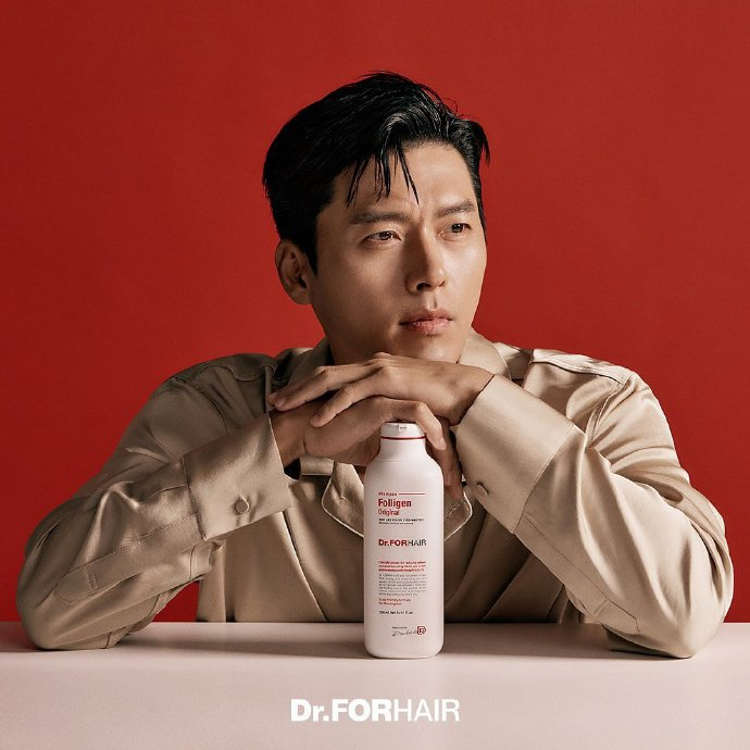 同一天韓國沙龍髮品Dr.FORHAIR宣布玄彬為品牌大使。圖/取自微博
