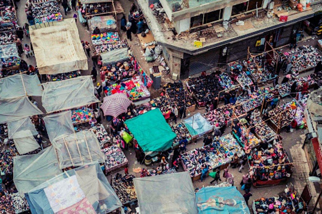 埃及一處市場。 圖/法新社