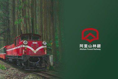全新LOGO的色調,源自象徵鐵道文化旅行時代啟始的經典火車頭紅色。 圖/林鐵處提供。