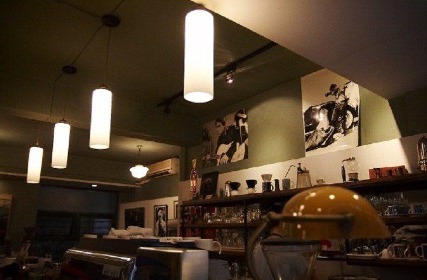 「挪威森林」以義式咖啡與藝文空間聞名。圖/余永寬提供