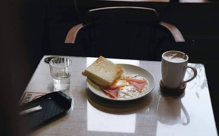 南美咖啡的早餐。報系資料照