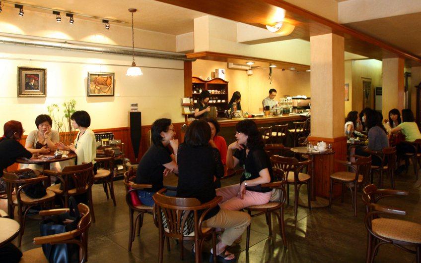 永康街的卡瓦利咖啡館已經結束營業。報系資料照
