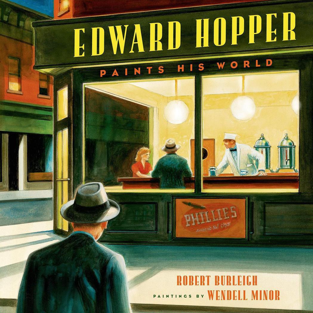 一本評論愛德華霍普的書「Edward Hopper Paints His Wor...