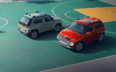 最入門、最小台現代小精靈初登場 全新Hyundai Casper首次亮相!