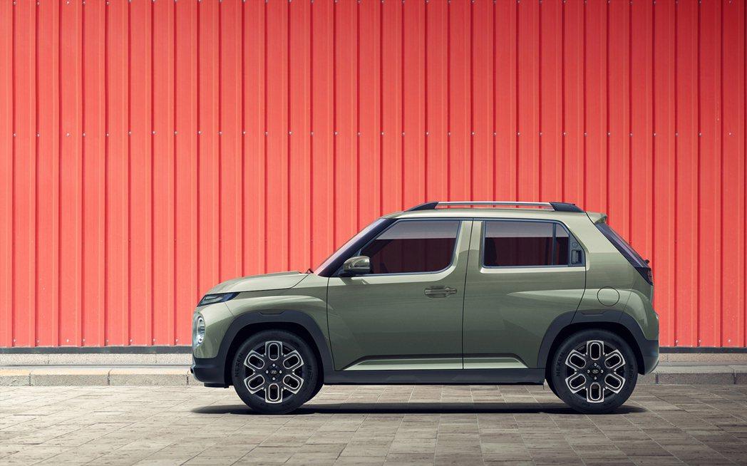 建構於K1底盤平台的全新Hyundai Casper,車長3,595mm、車寬1...