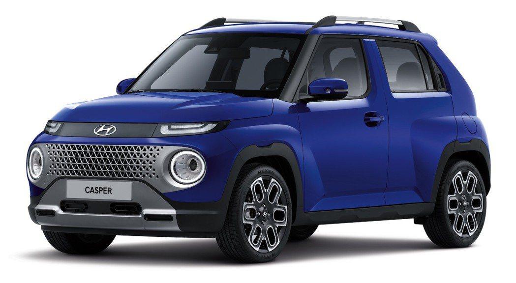 全新Hyundai Casper。 摘自Hyundai