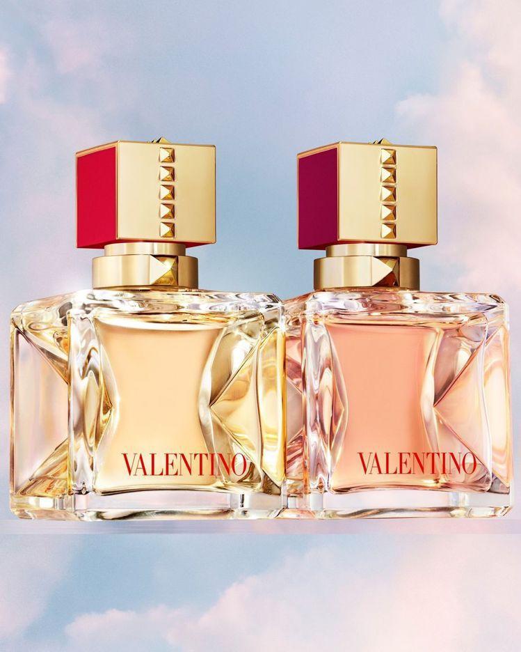Lady Gaga代言VALENTINO Voce Viva香水。圖/取自IG