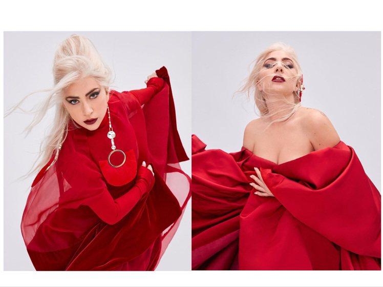 Lady Gaga代言VALENTINO Voce Viva香水形象廣告,自備仙...