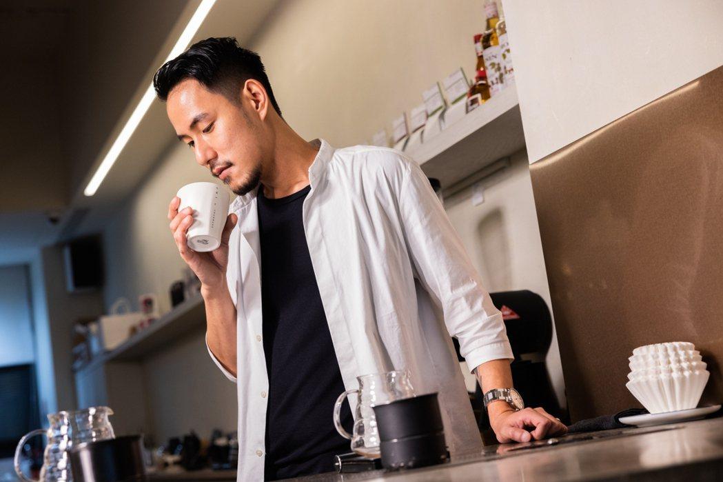 王策個人偏好清爽帶水果調性、明亮的咖啡豆風味。圖/沈昱嘉攝影