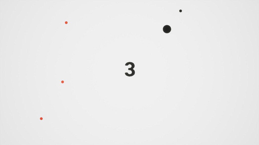 只要累積的分數越高,畫面上的紅點(障礙)也會越來越多