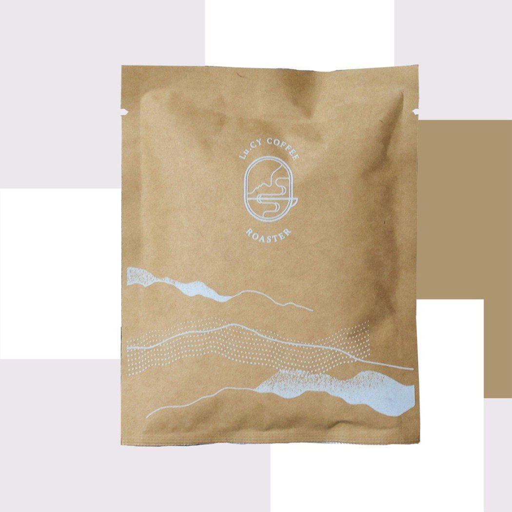 盧西咖啡推出紅木家常配方掛耳包。圖/500輯提供