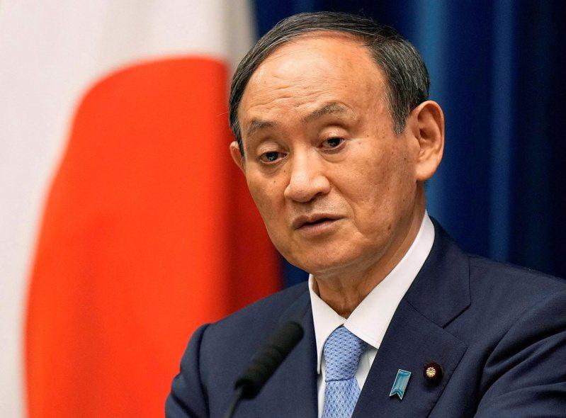 日本自民黨總裁、首相菅義偉。路透社