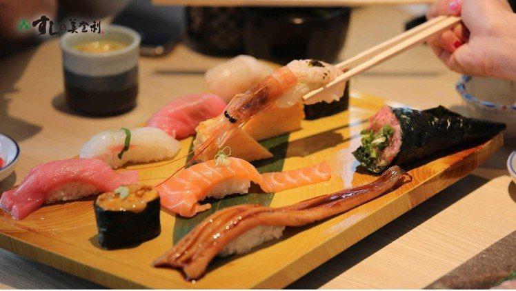 美登利壽司預計10月20日進駐新光三越台北南西店三館美食街。圖/新光三越提供