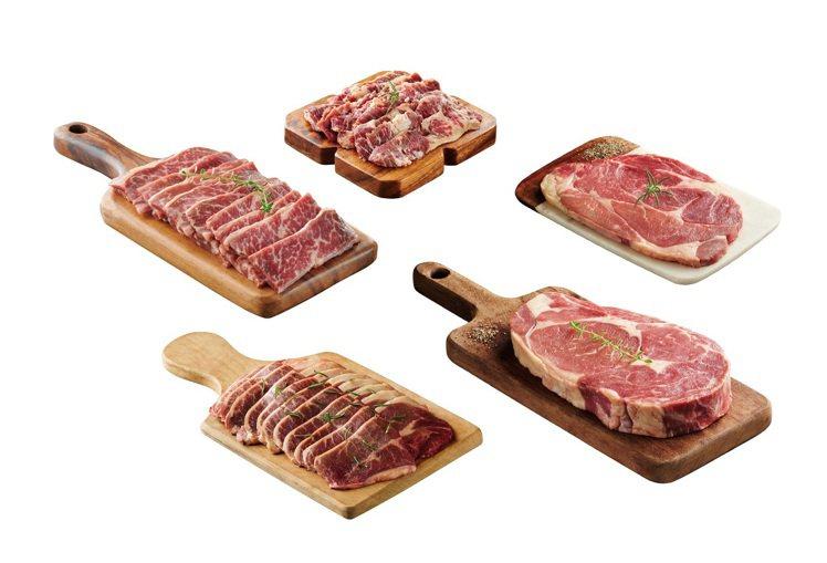 燒肉同話「豪華老饕首選燒烤組」,精選5款優質好肉,包括肋眼牛排、無骨牛小排等,每...