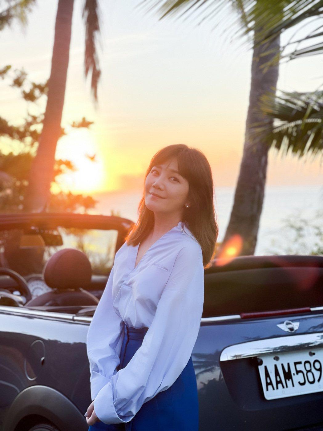 梁靜茹為新歌從日出拍到日落。圖/Vocalist Music 提供