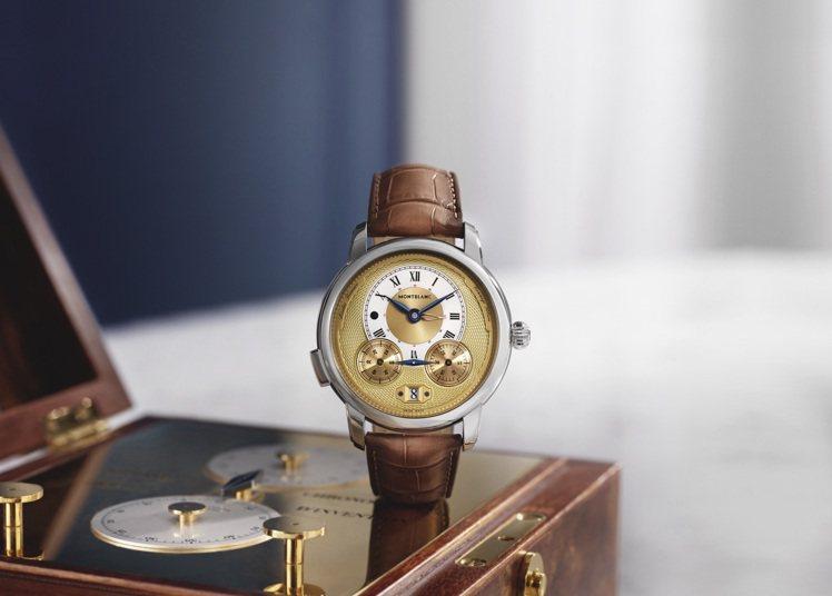 萬寶龍明星傳承系列Nicolas Rieussec計時腕表,27萬6,000,限...