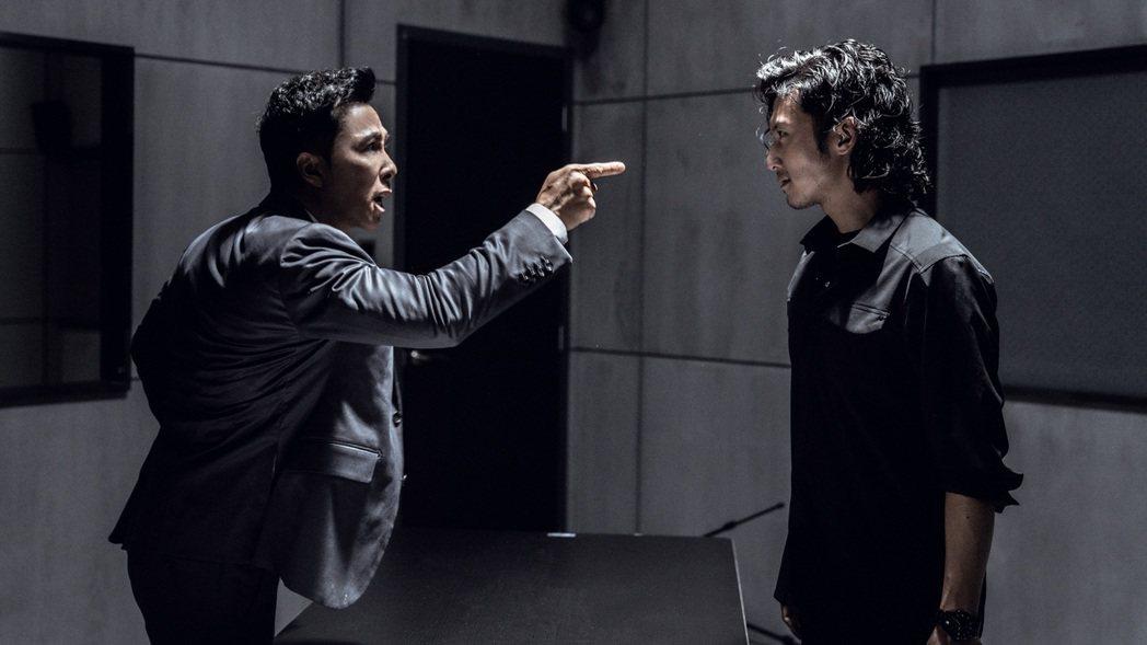 甄子丹(左)、謝霆鋒在「怒火」火爆對決。圖/華映提供